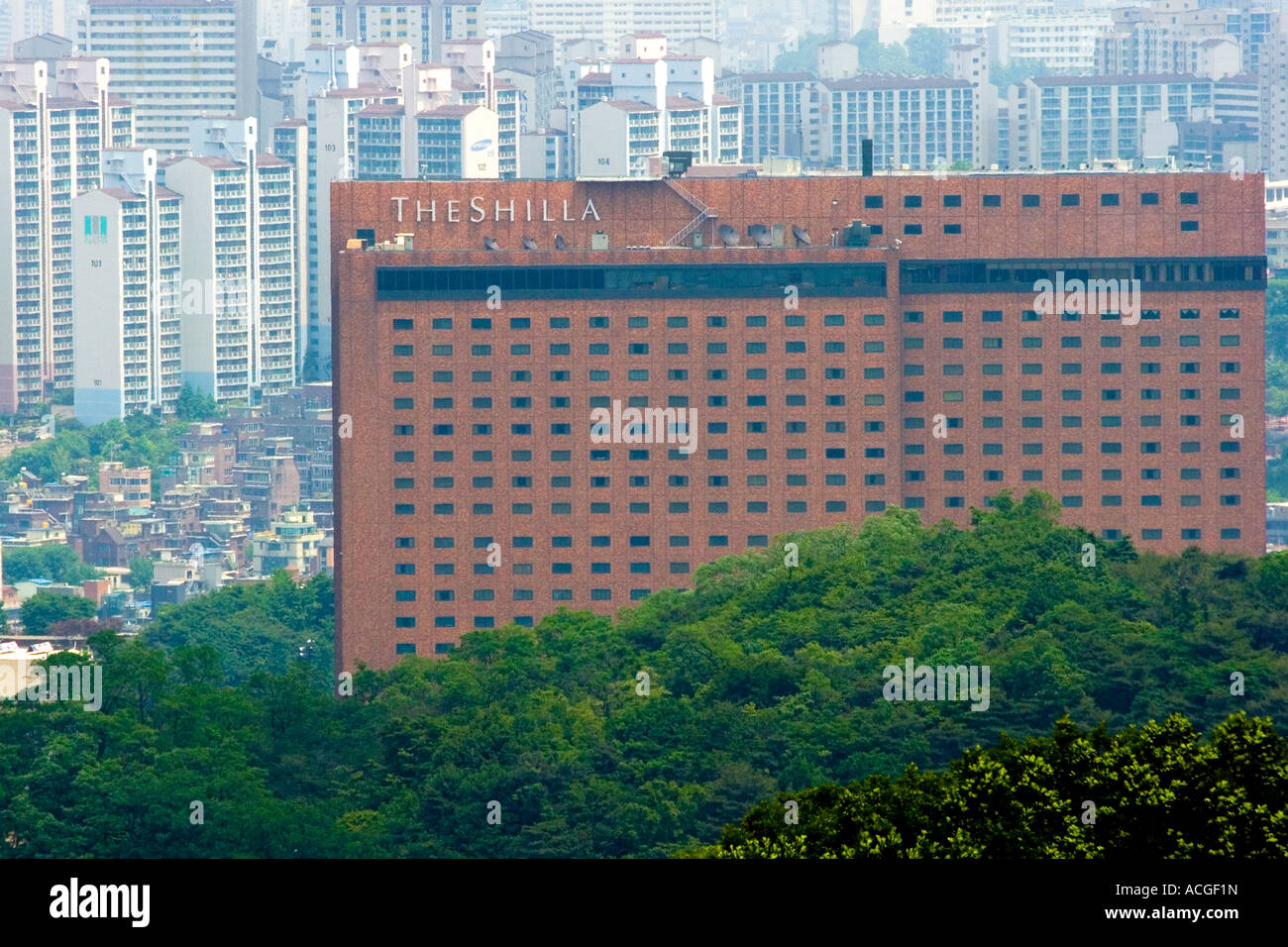 The Shilla Hotel Seoul South Korea Stock Photo