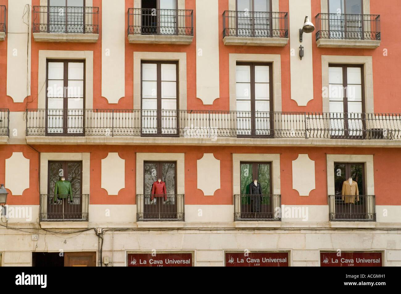 La Cava Universal, Ciutat Vella, Barcelona Spain - Stock Image