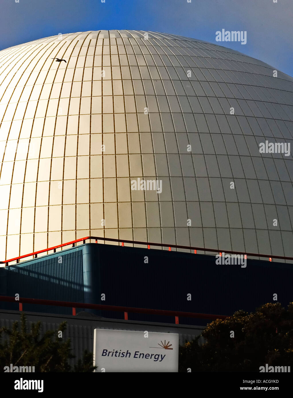 Sizewell B PWR Nuclear Power Station Suffolk England UK - Stock Image