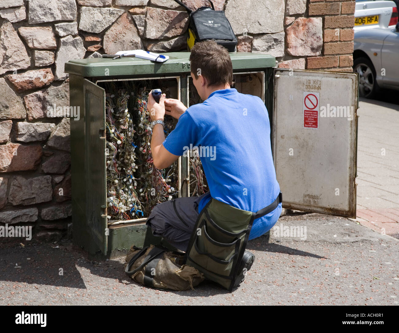 Prime British Telecom Engineer Working On A Telephone Wiring Junction Box Wiring Digital Resources Indicompassionincorg
