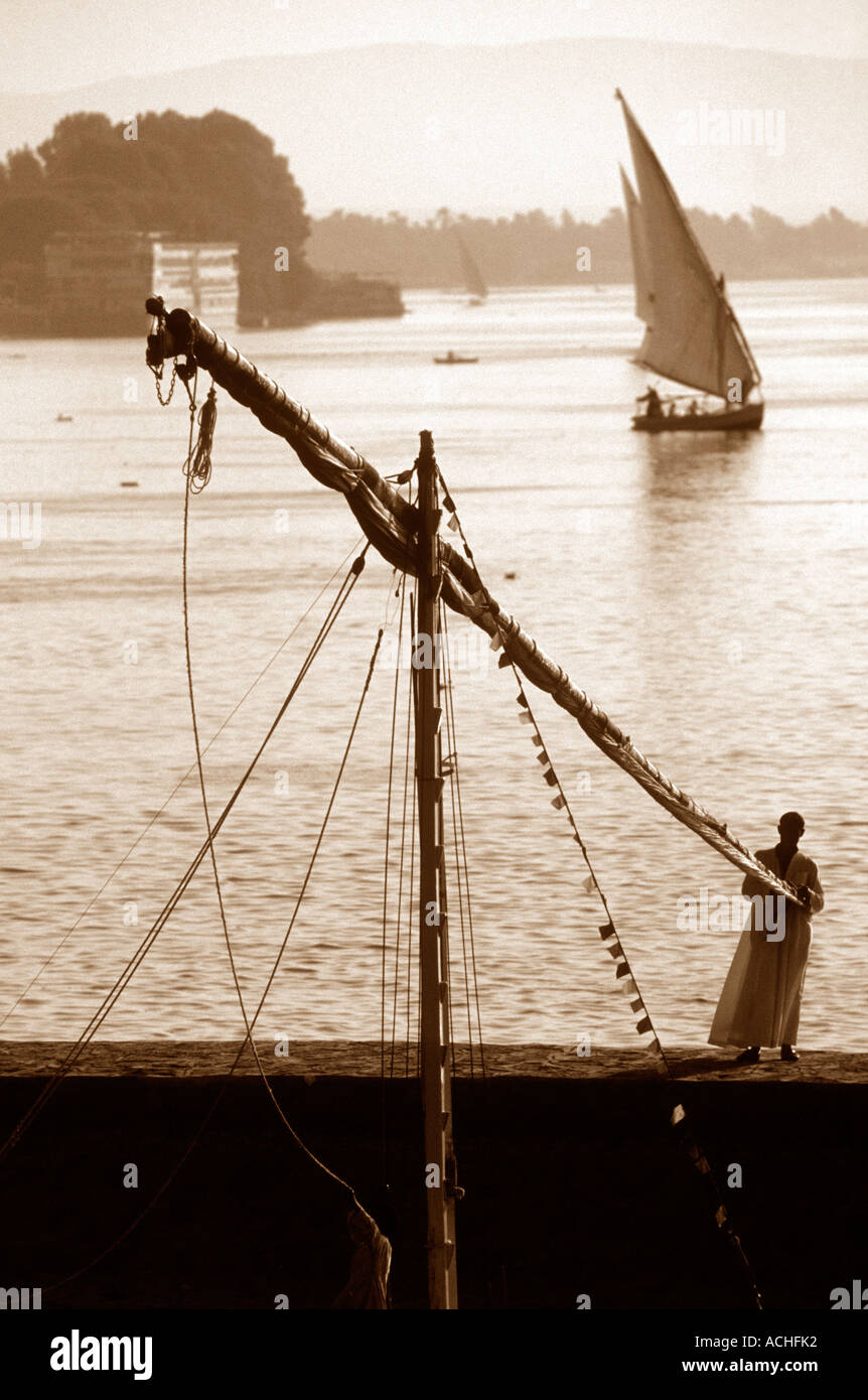 Nile Scene - Stock Image