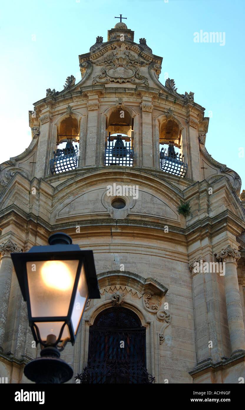 Church of San Giuseppe Ragusa Ibla Italy - Stock Image