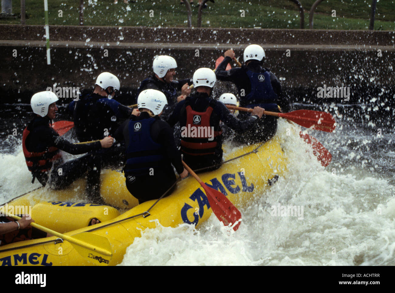 Nottingham travel tips: white-water rafting at Holme ...