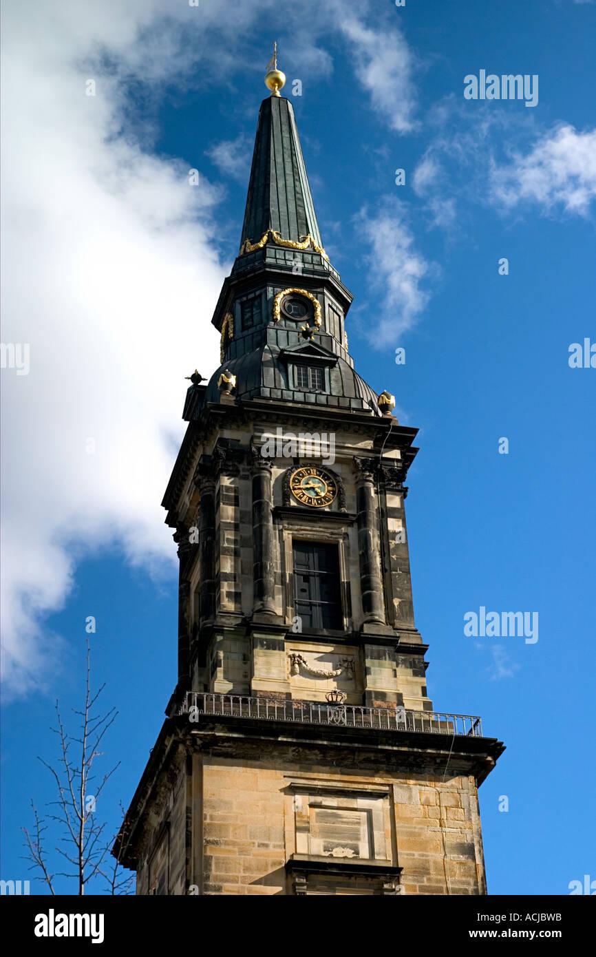 Christians Kirke King Christians Church Strandgade Christianshavn Copenhagen - Stock Image