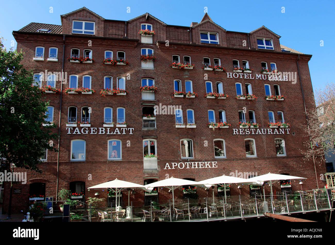 Hotel zur Muehle Buxtehude - Stock Image