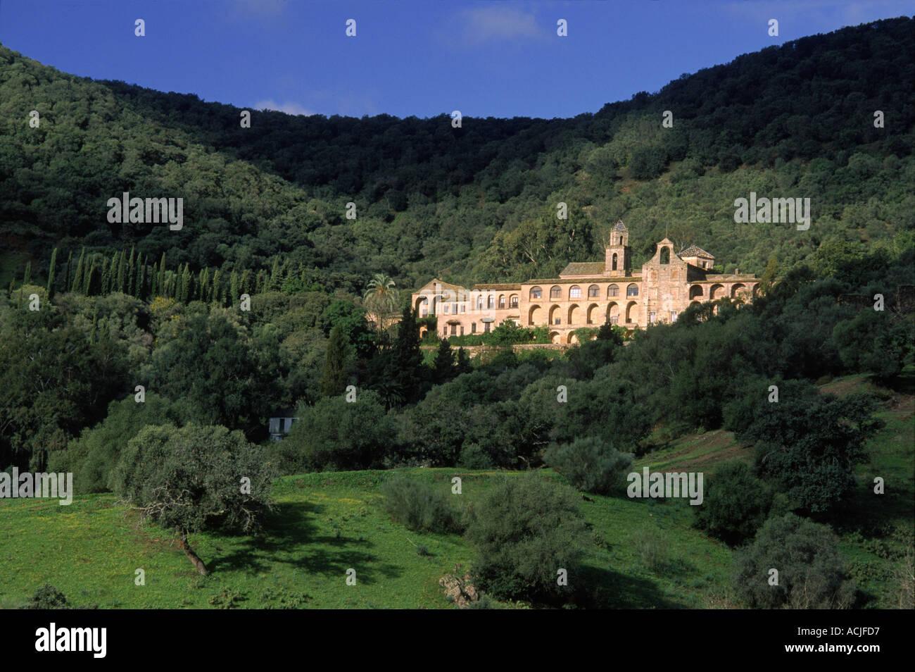 Los Jeronimos royal monastery 15th century Cordoba Spain Europe - Stock Image