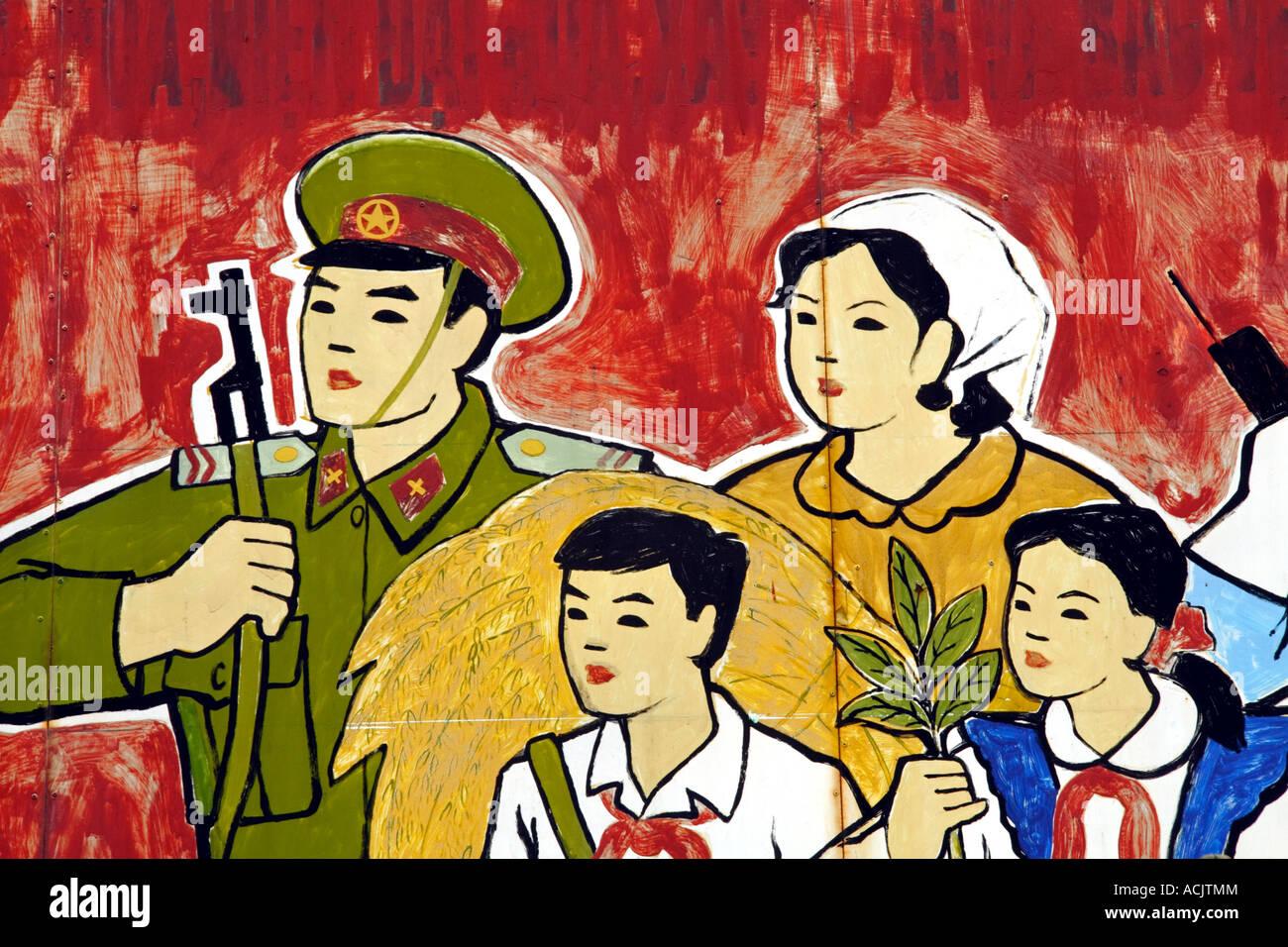 Vietnam Propaganda Vietnam War Stock Photos & Vietnam