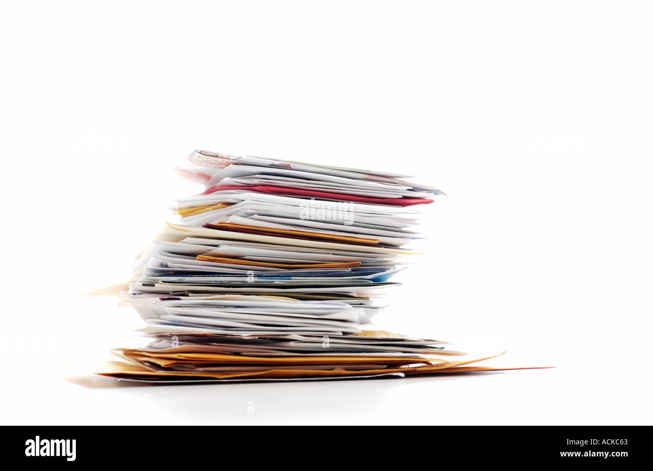 Stack of Junk Mail - Stock Image