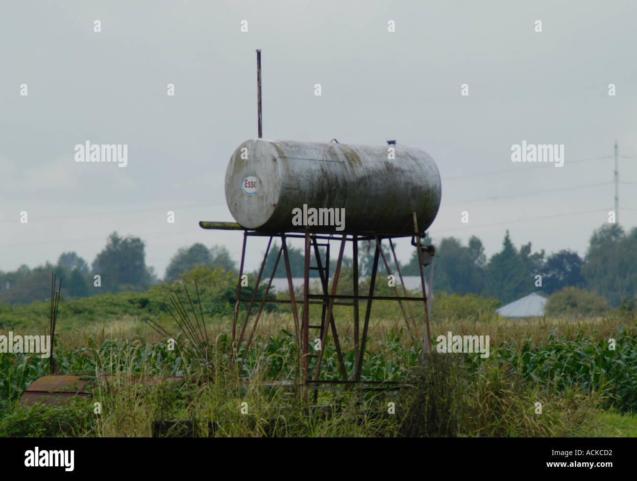 farm fuel tank
