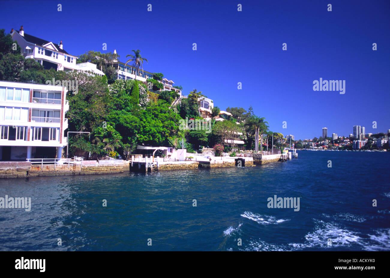 Sydney Harbour, New South Wales, Australia. Stock Photo