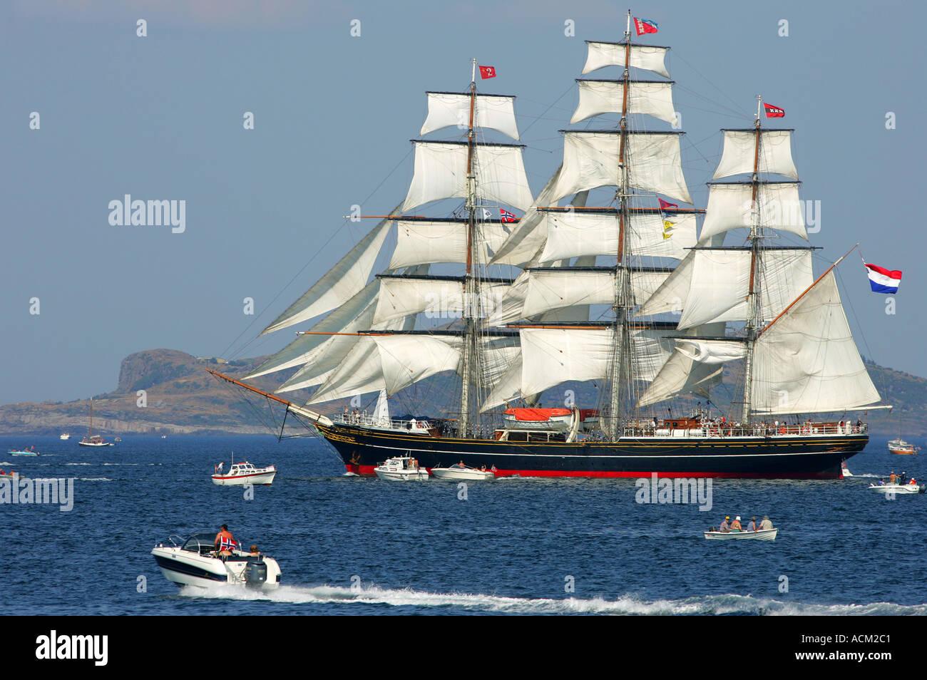Tall ships race Stavanger - Stock Image