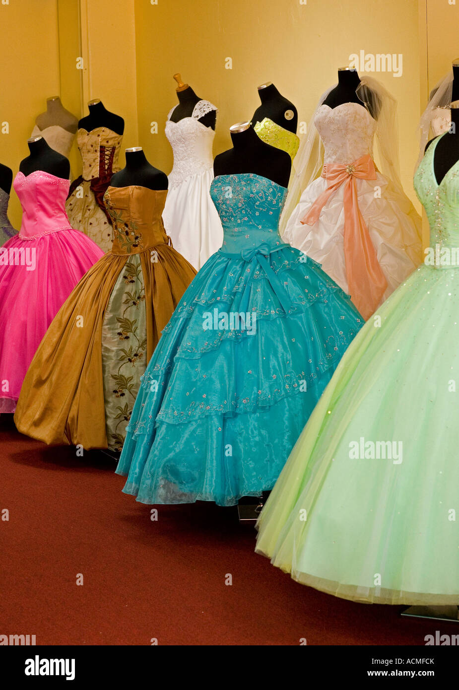 f461263f37b dresses for weddings and Quinceanera Bridal shop Broadway downtown Los  Angeles California United States of America
