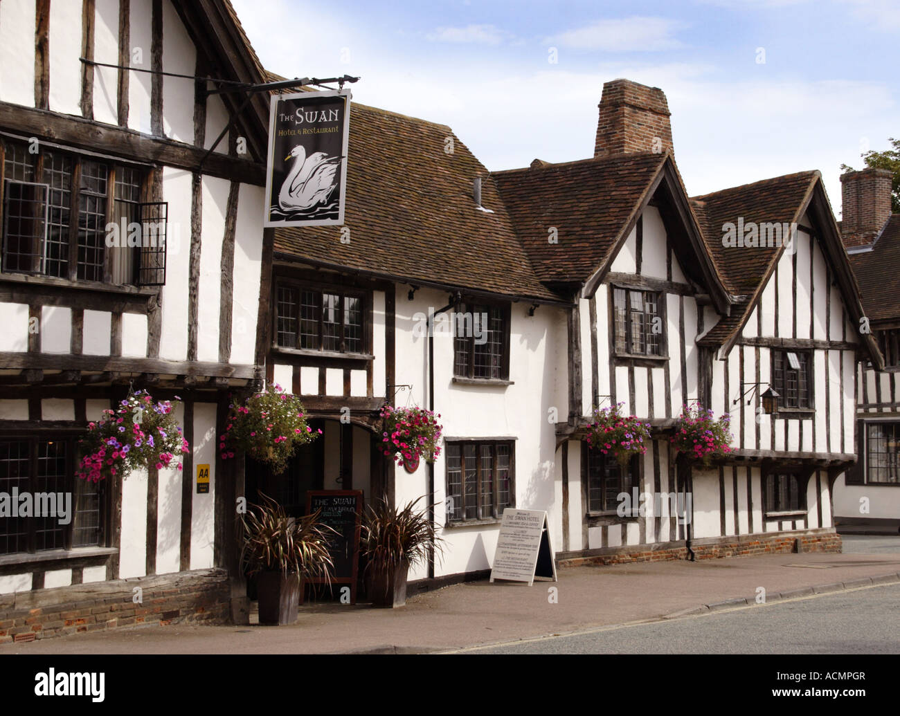 Swan Hotel, Lavenham, Suffolk, England - Stock Image