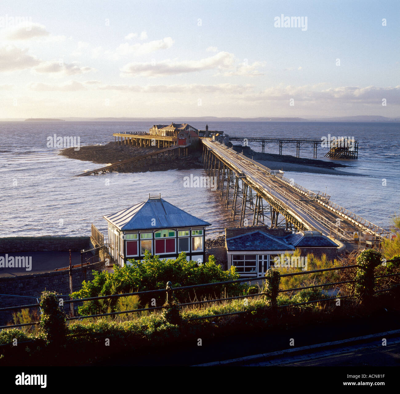 Birnbeck Pier [Weston super Mare] - Stock Image