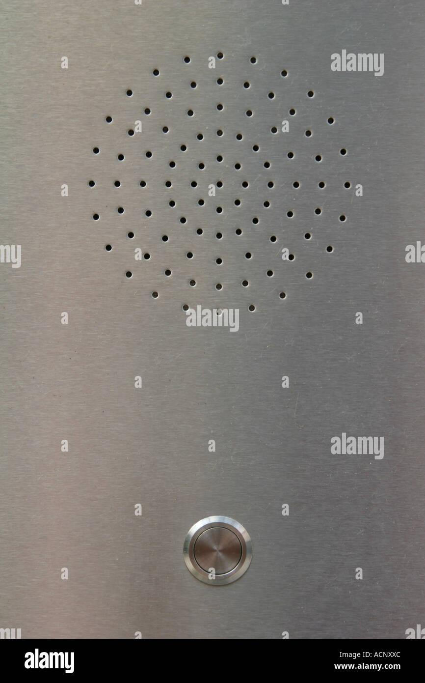 Door bell - Türklingel - Stock Image