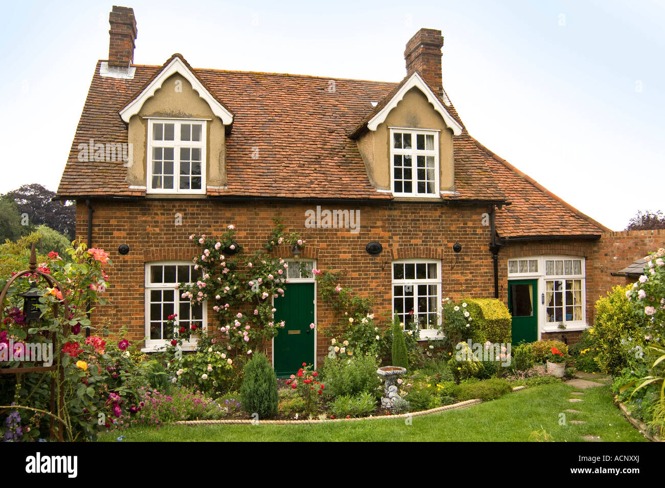 English Country Cottage 2 - Stock Image