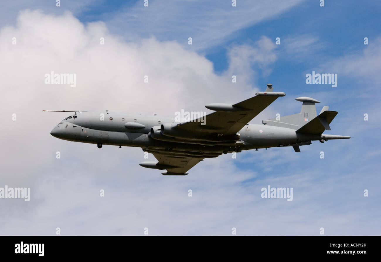 ZJ518 BAE Systems Nimrod MRA4 Maritime Reconnaissance and Attack Mk4 Aircraft at RAF Fairford Stock Photo