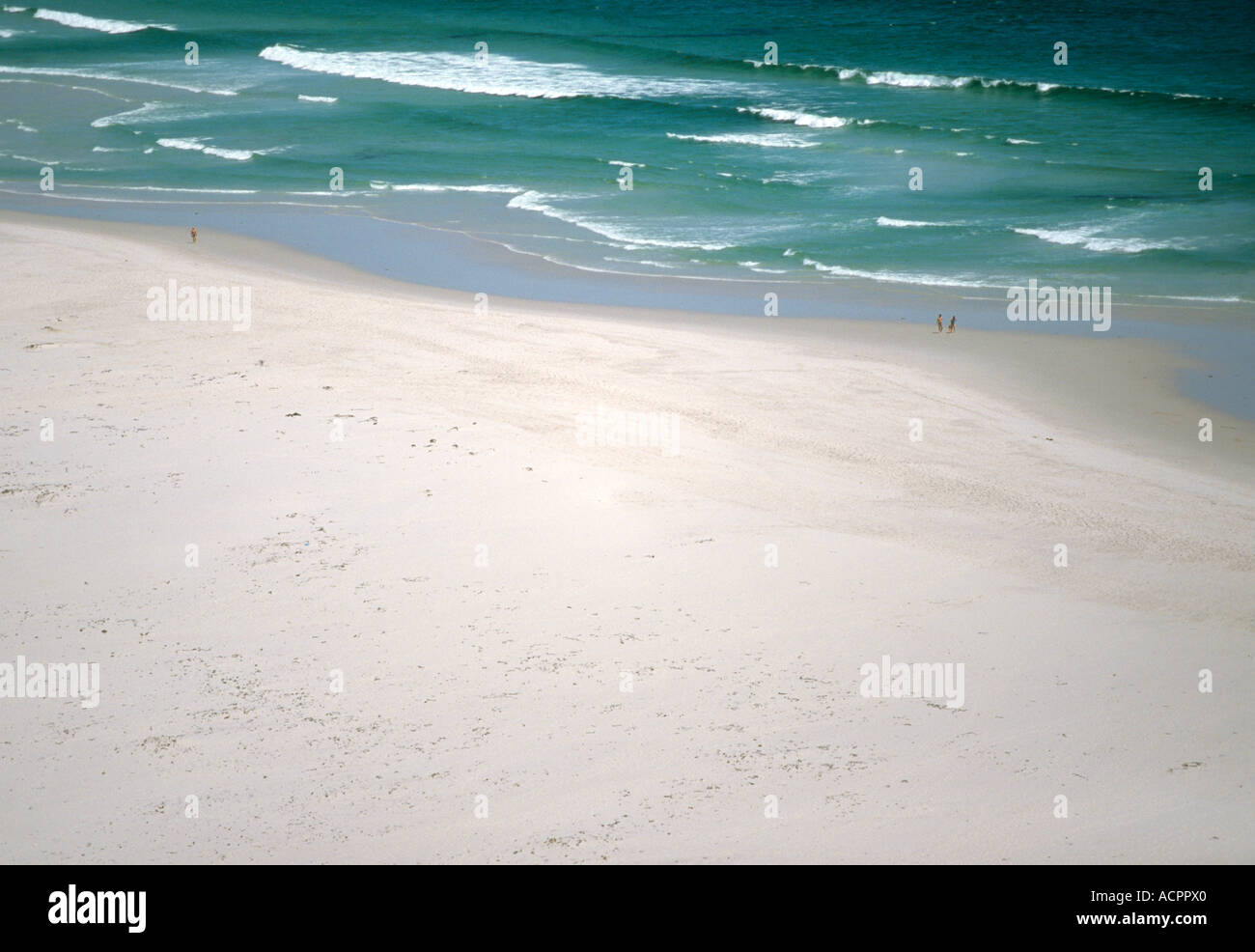 South Africa, Nordhoek near Kapstadt, sandy beach - Stock Image