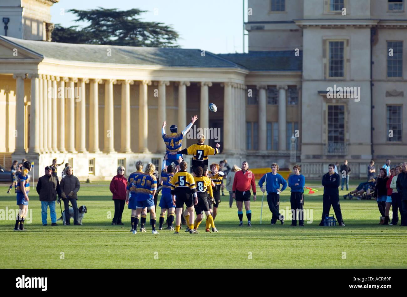 Stowe Public School Buckingham MK18 5EH England Stowe Public School - Stock Image