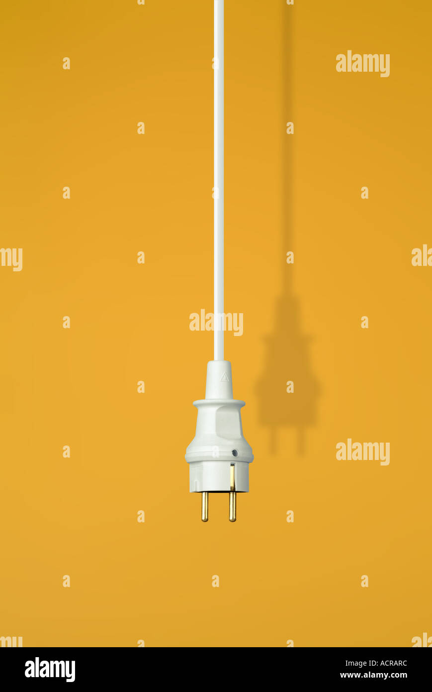 connector Stecker - Stock Image