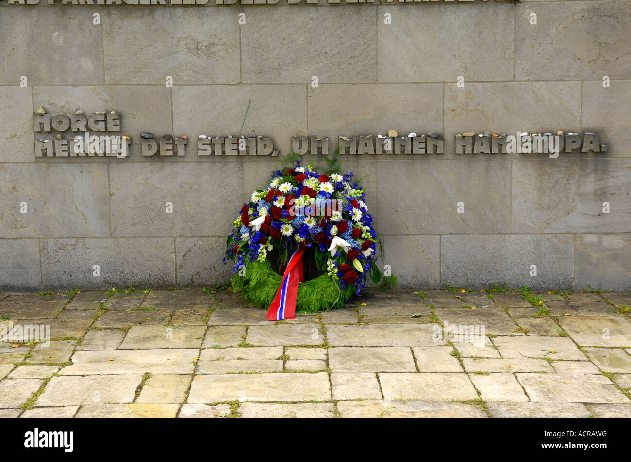 to the memory of all those who died in this place memorial wall