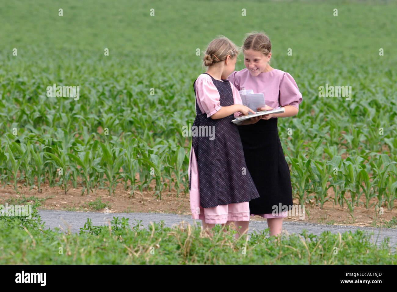 Amish girls dating