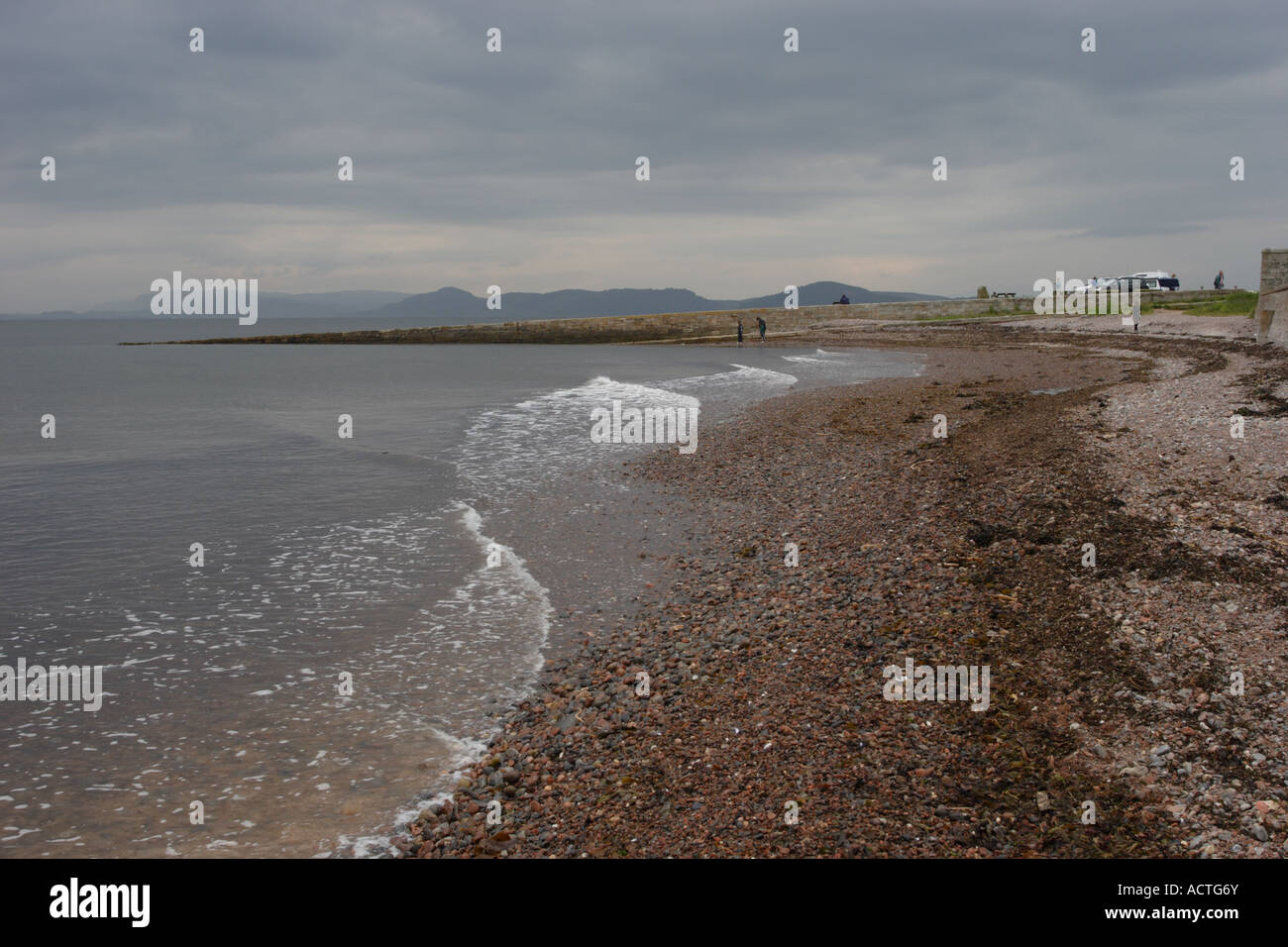 Chanonry Point on the Black Isle, Scotland. A popular spot for those hoping to indulge in a bit of dolphin watching. Stock Photo