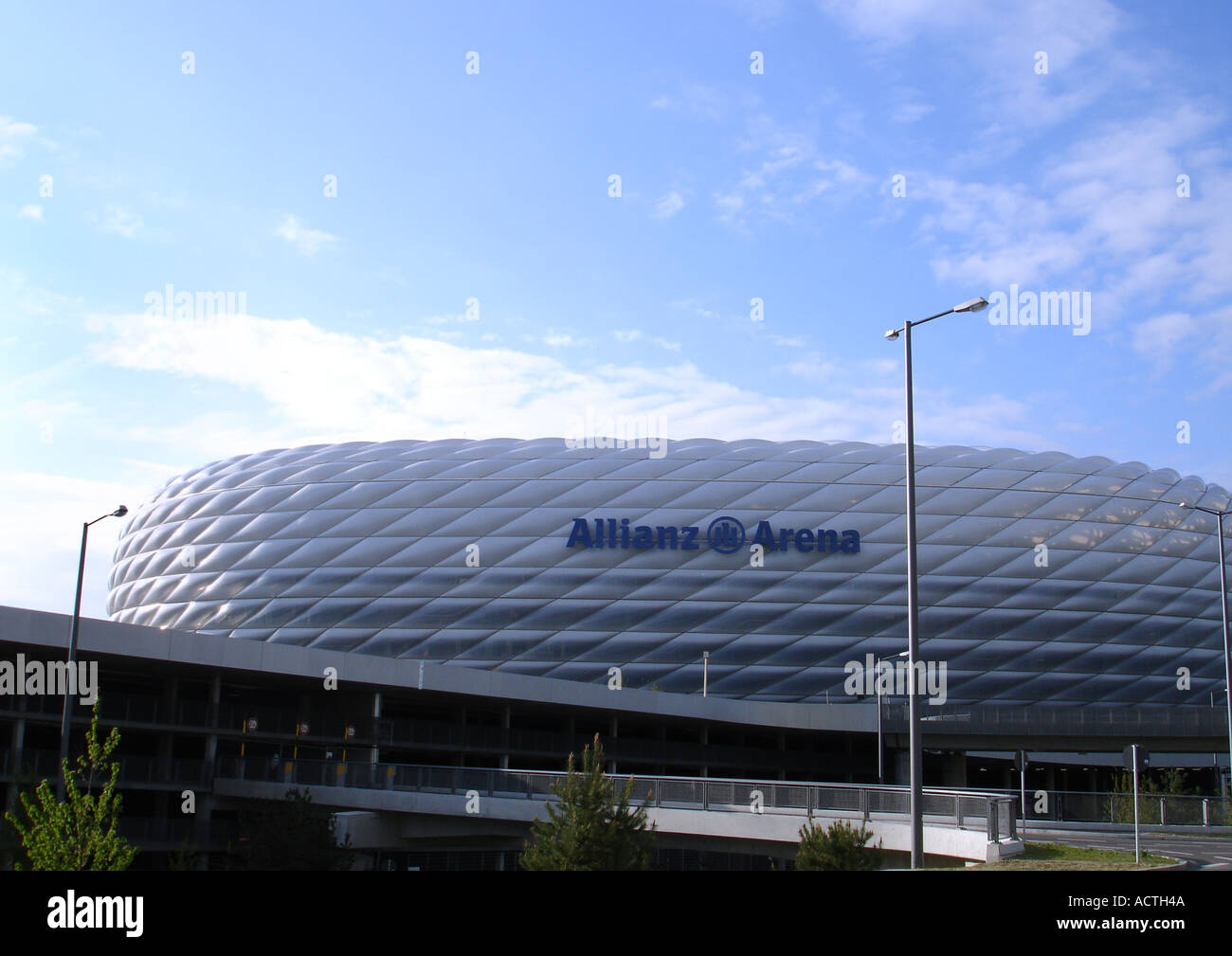 Allianz Arena stadion germany - Stock Image