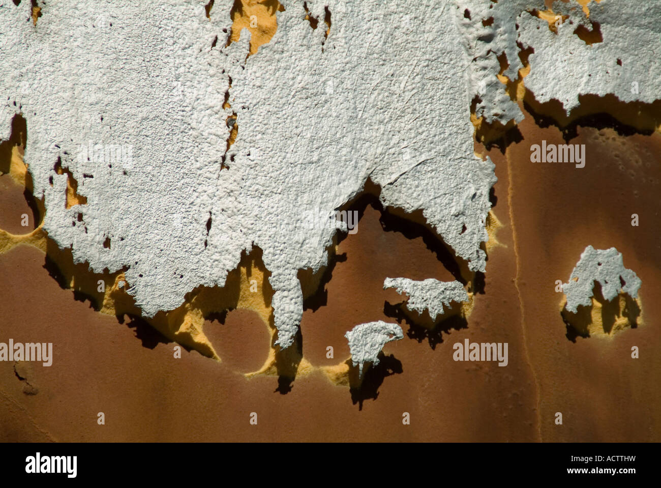 ABSTRACT PHOTO OF BROKEN DOWN INSULATION LOOKING LIKE 3D MAP ... on