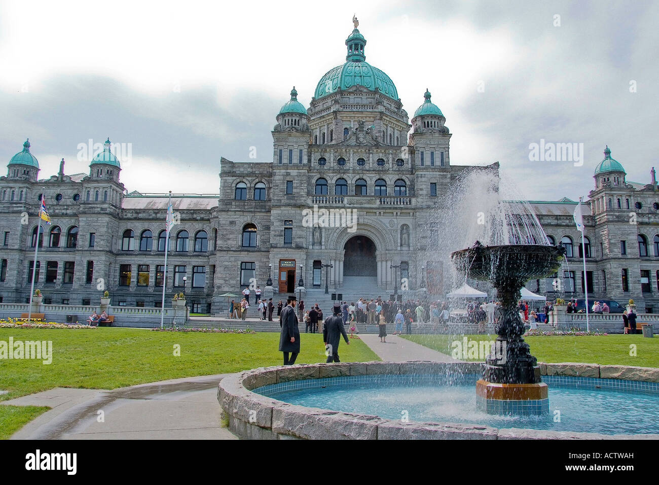 Victoria Island Bc >> Parliament House Of Victoria Island Bc Canada Stock Photo