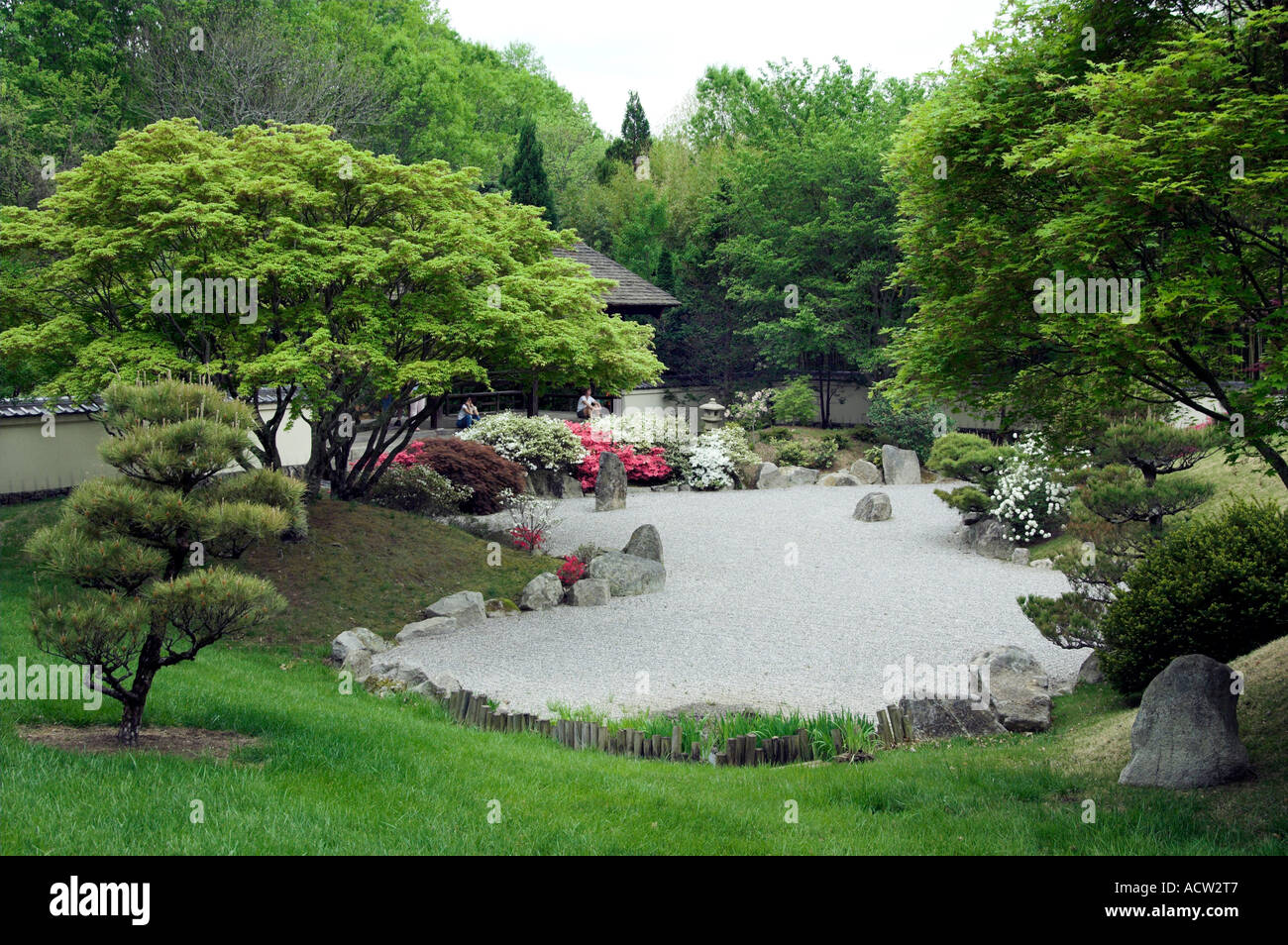 The Japanese Gardens At The Cheekwood Botanical Gardens In