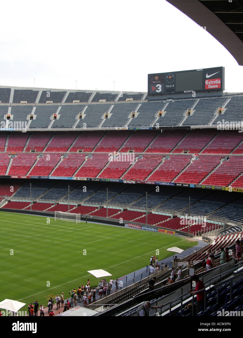 nou camp stadium in barcelona with a 90 000 capacity home to fc stock photo alamy https www alamy com stock photo nou camp stadium in barcelona with a 90000 capacity home to fc barcelona 13231976 html