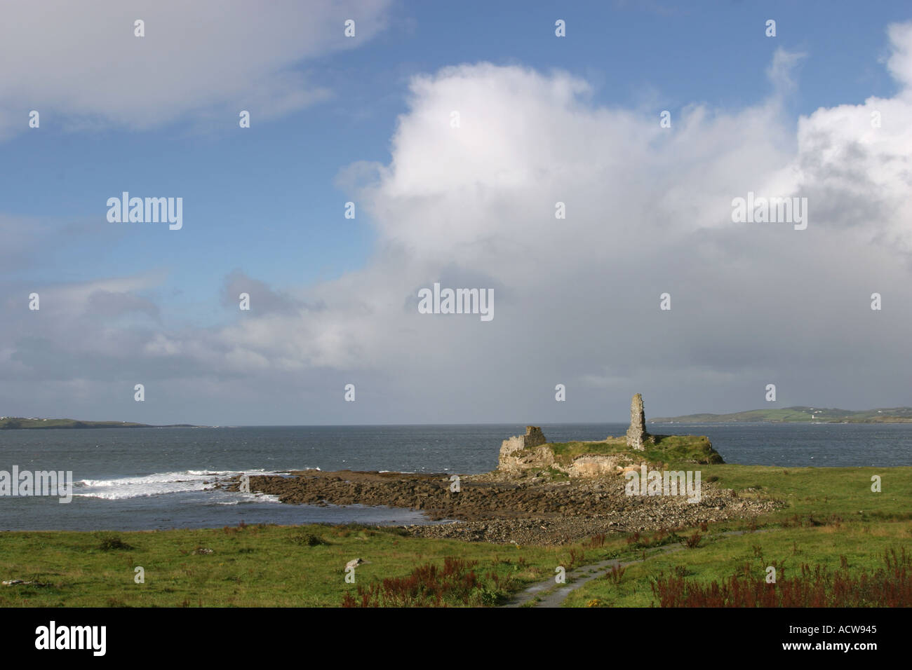 Ireland County Donegal St Johns Point Portned Island - Stock Image