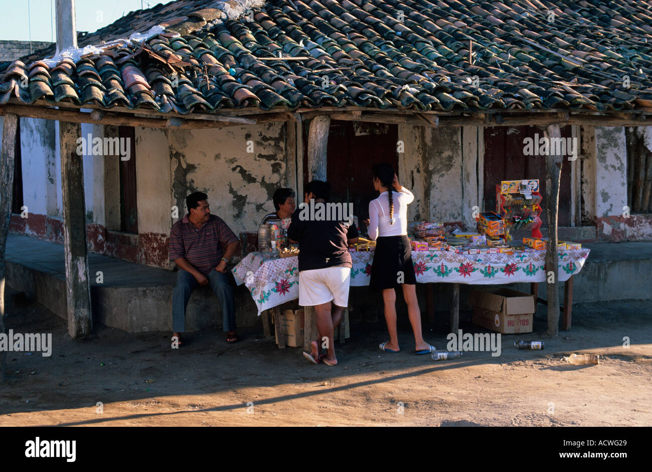 Mexico Nayarit Mexcaltitan - Stock Image