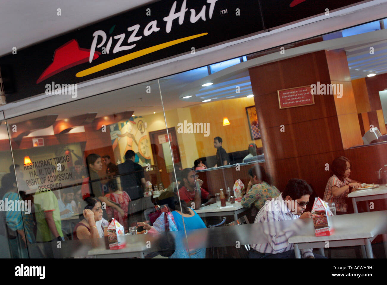 Pizza Hut India Stock Photos Pizza Hut India Stock Images Alamy