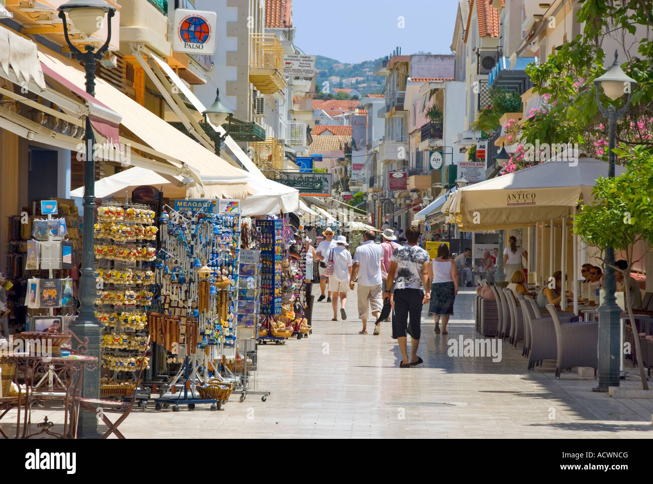 Argostoli Town, Kefalonia Stock Photo: 13237983 - Alamy