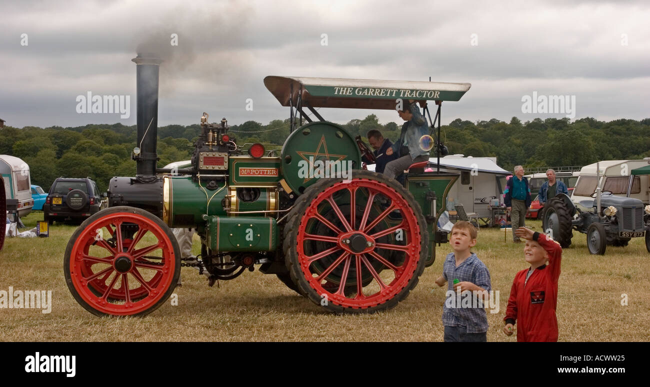 Prestwood steam fair Traction engines. EDITORIAL USE ONLY - Stock Image