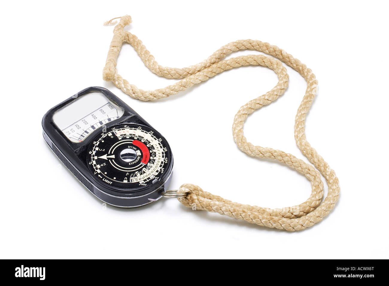 Exposure Meter - Stock Image