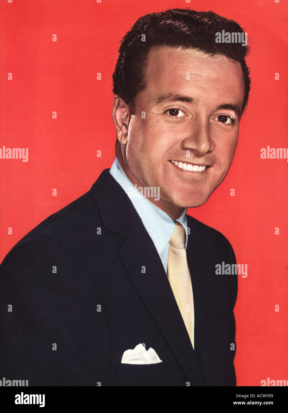VIC DAMONE (1928-2018) US singer about 1958 - Stock Image