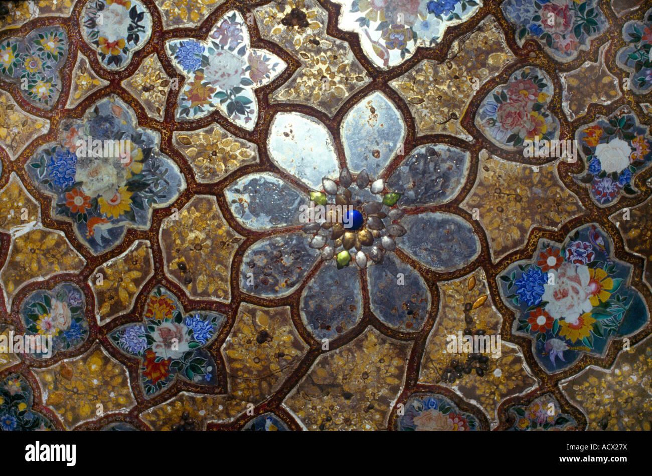 Amritsar India Mosaic Baba Atol Tower - Stock Image