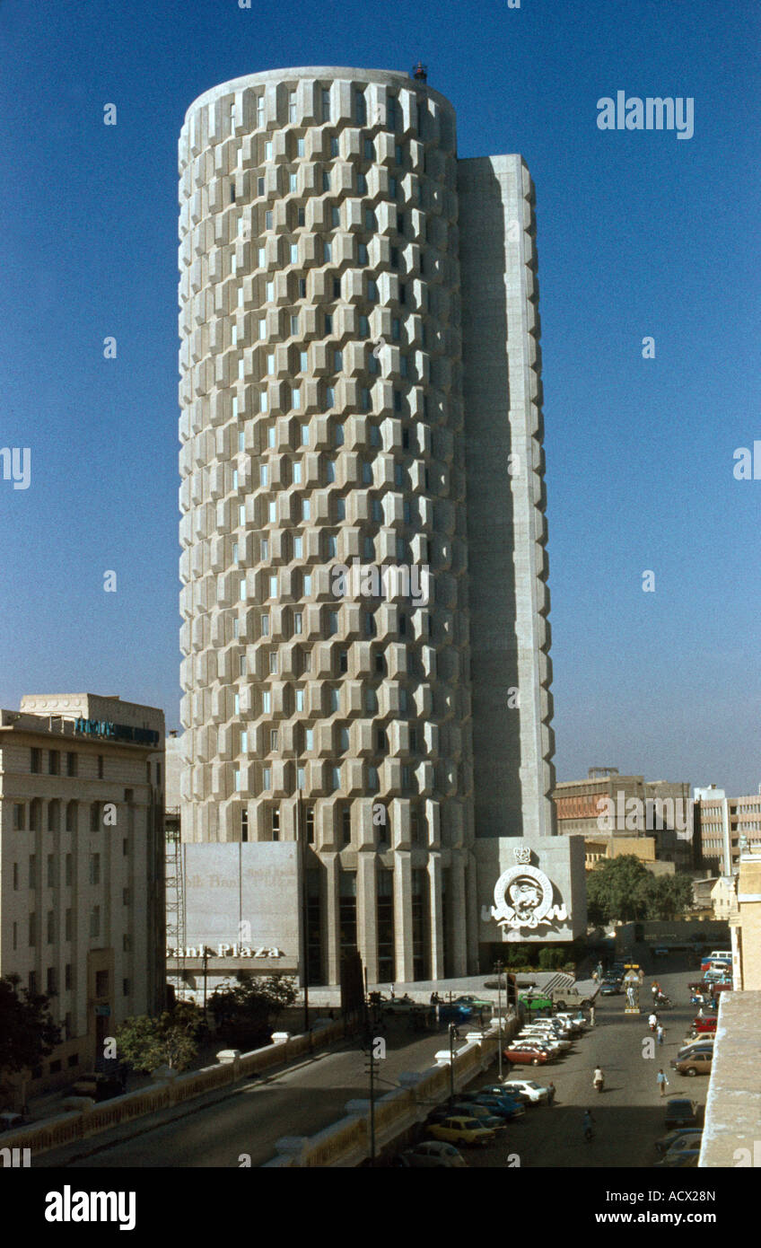Karachi Pakistan Habib Bank Plaza Islamic Bank Stock Photo: 13240964