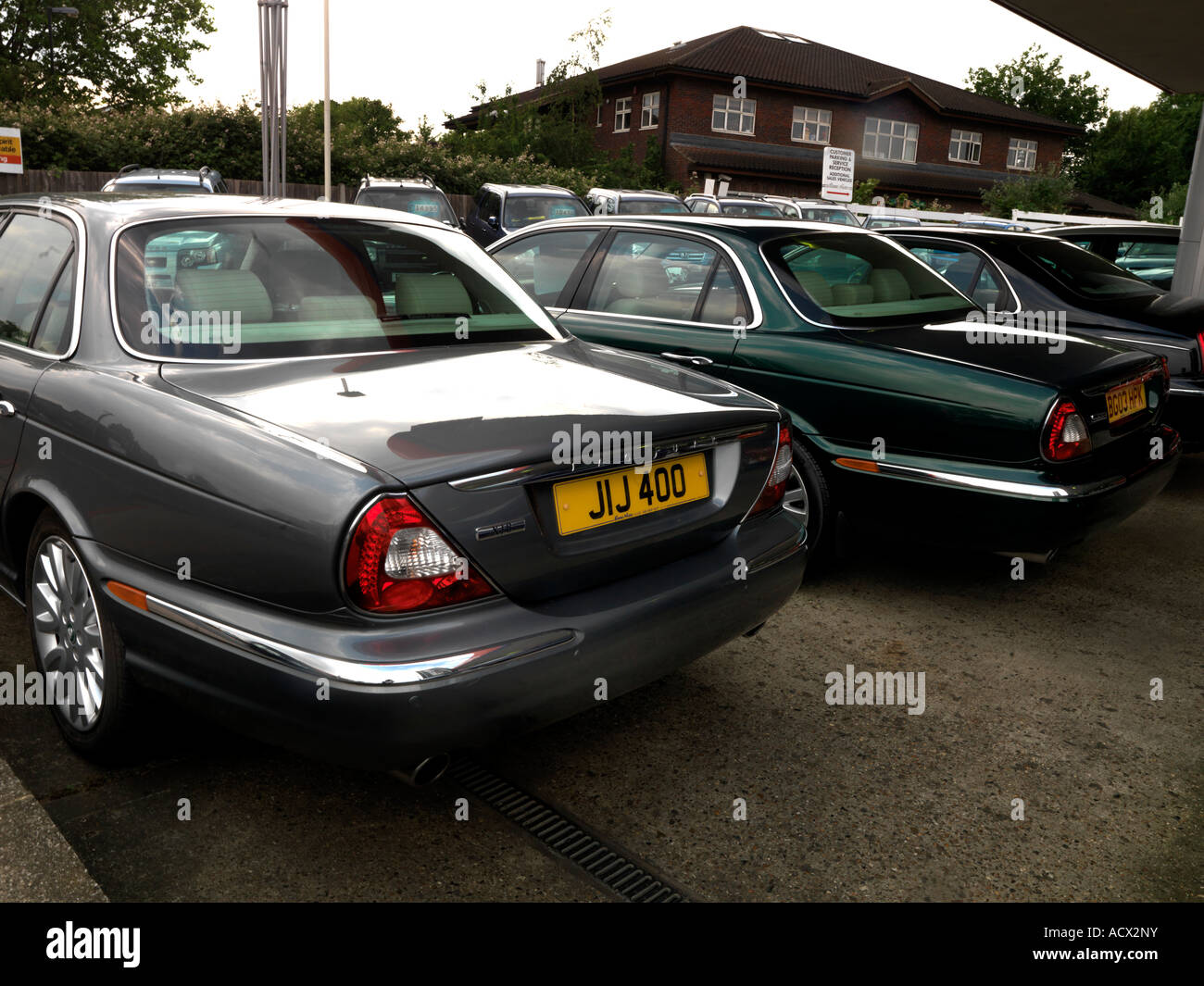 Secondhand Cars for Sale England - Stock Image