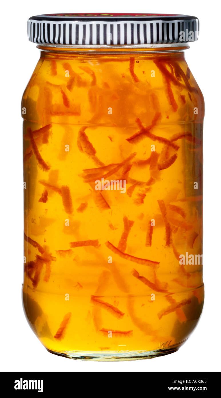 MARMALADE JAR CUT OUT - Stock Image