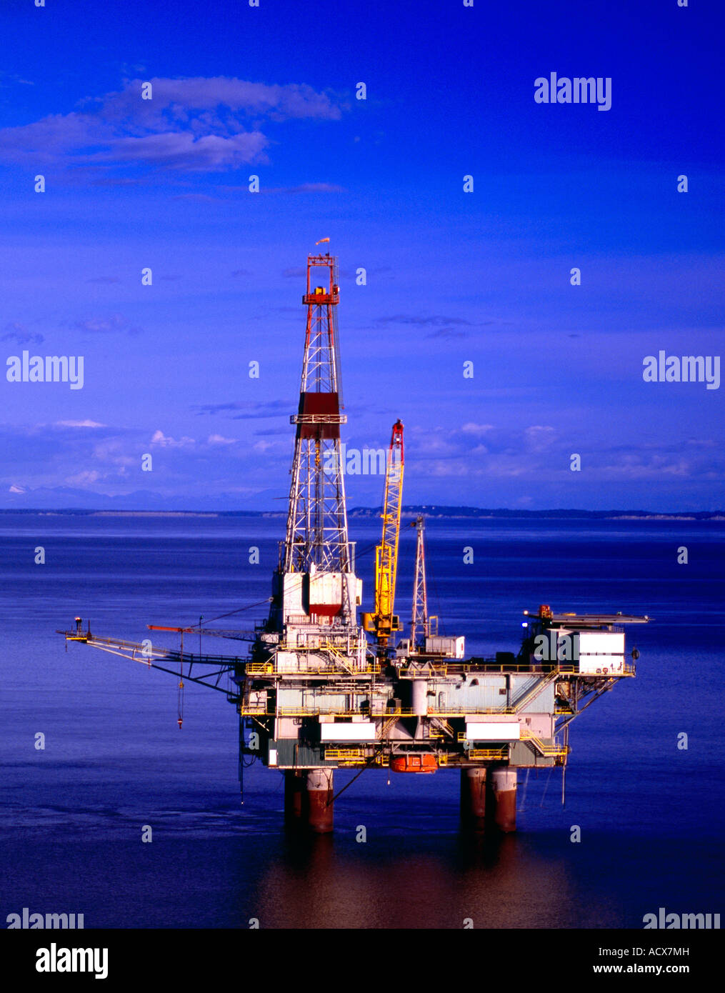 Offshore oil and gas production in the Cook Inlet Alaska
