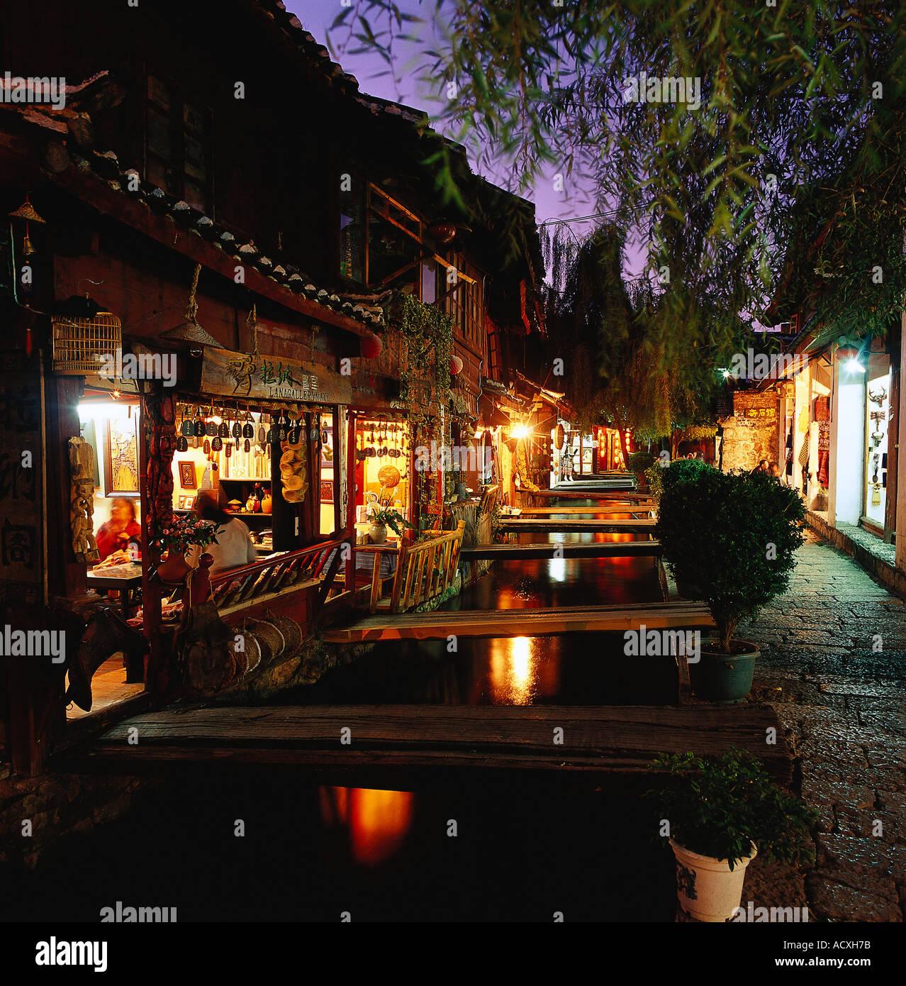 Lijiang Yunnan China Stock Photo