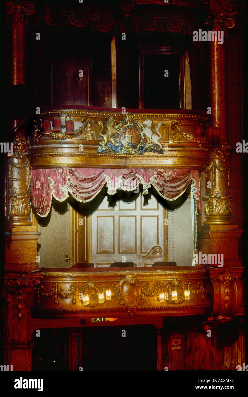 Front View Of Palladium Royal Box Facing The Stage The