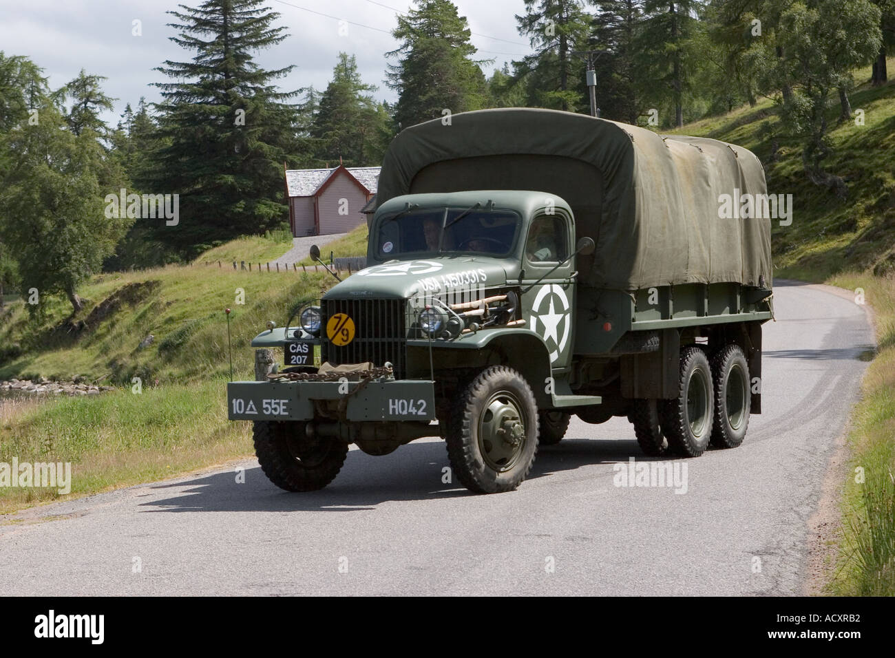 Half Ton Truck >> GMC CCKW 6 X 6 American army truck (a two-and-a-half ton vehicle that Stock Photo: 4325297 - Alamy
