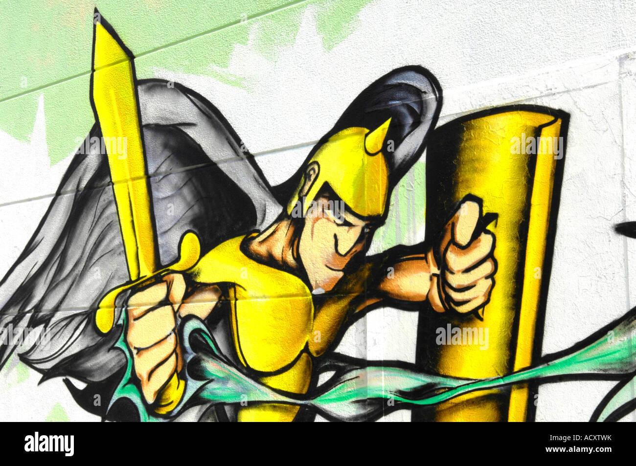 graffiti art graf spraypaint aerosol crime criminal damage mural ...