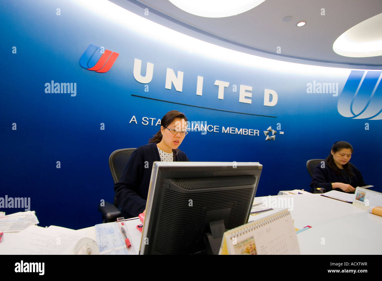 Airlines ticket stock photos airlines ticket stock images alamy - Delta airlines hong kong office ...