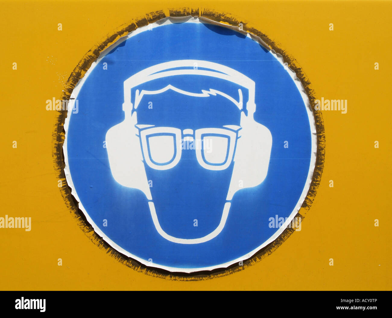 Mandatory Safety Sign Stock Photos Amp Mandatory Safety Sign